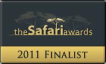 2011 Good Safari Guide Awards - Pondoro Safari Game Lodge
