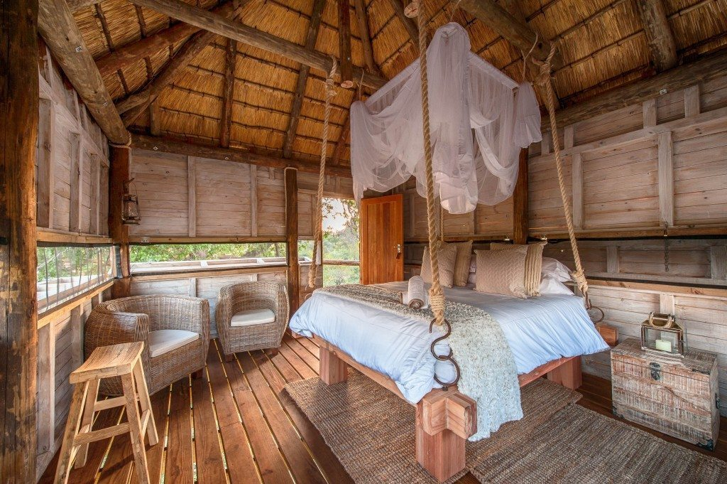 Treehouse hide Pondoro Game Lodge