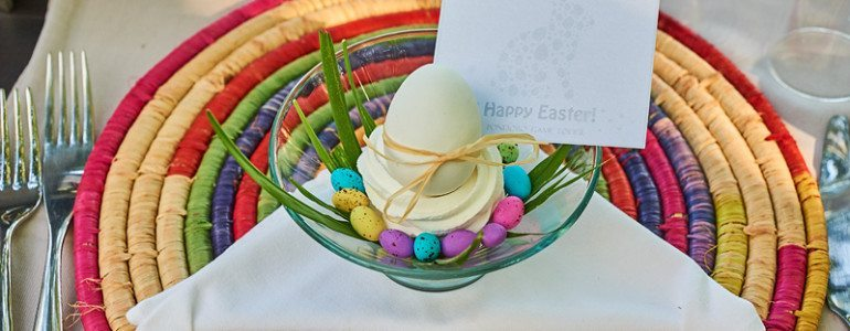 Easter table at Pondoro