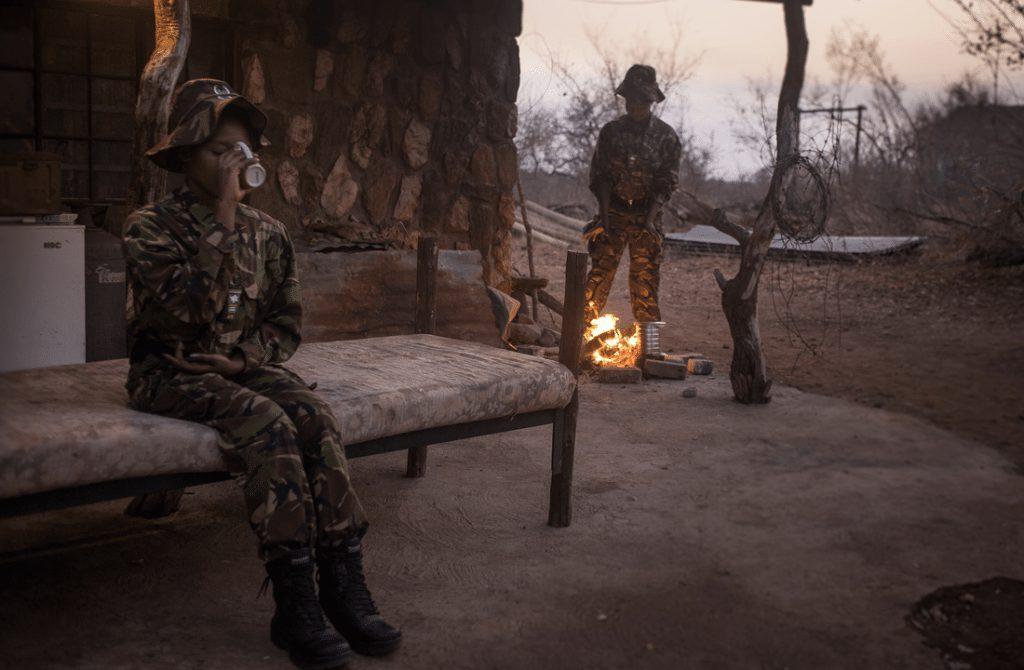 Black Mamba anti-poaching unit at Pondoro