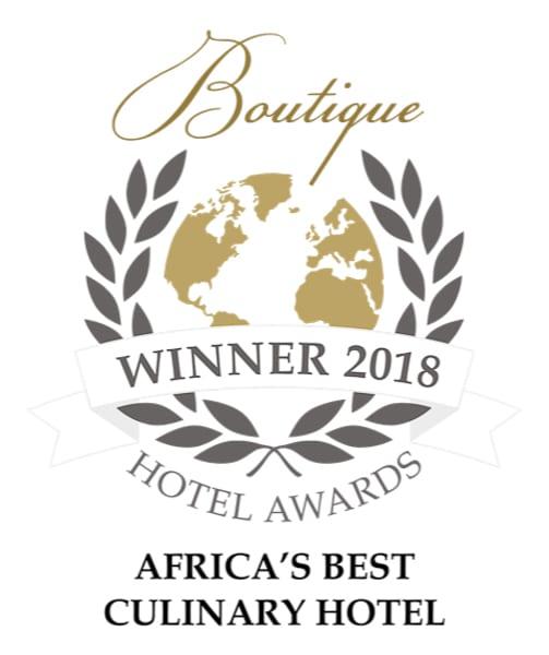 Boutique Hotel Awards - Pondoro Best Culinary Hotel